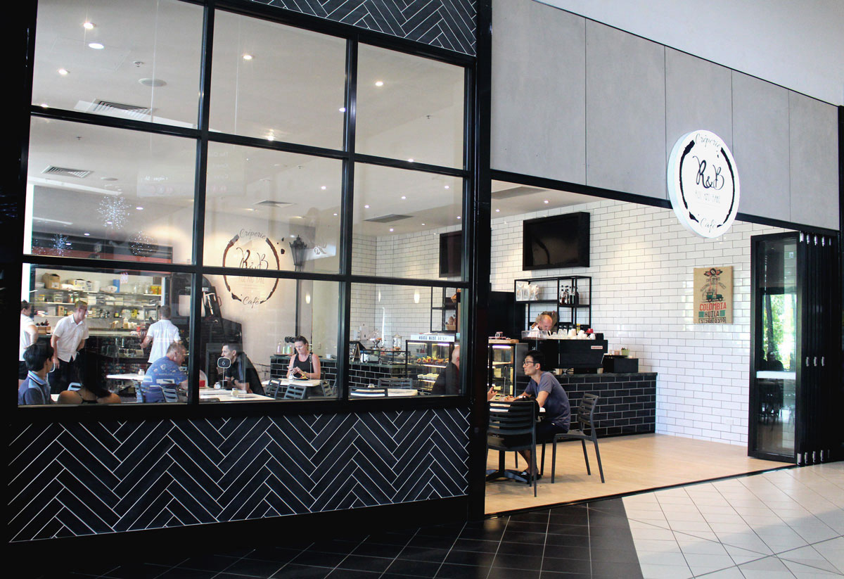 Interior Design - Rise & Bake Cairns Shopfront